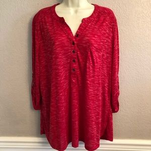 Kim Rogers Button Top
